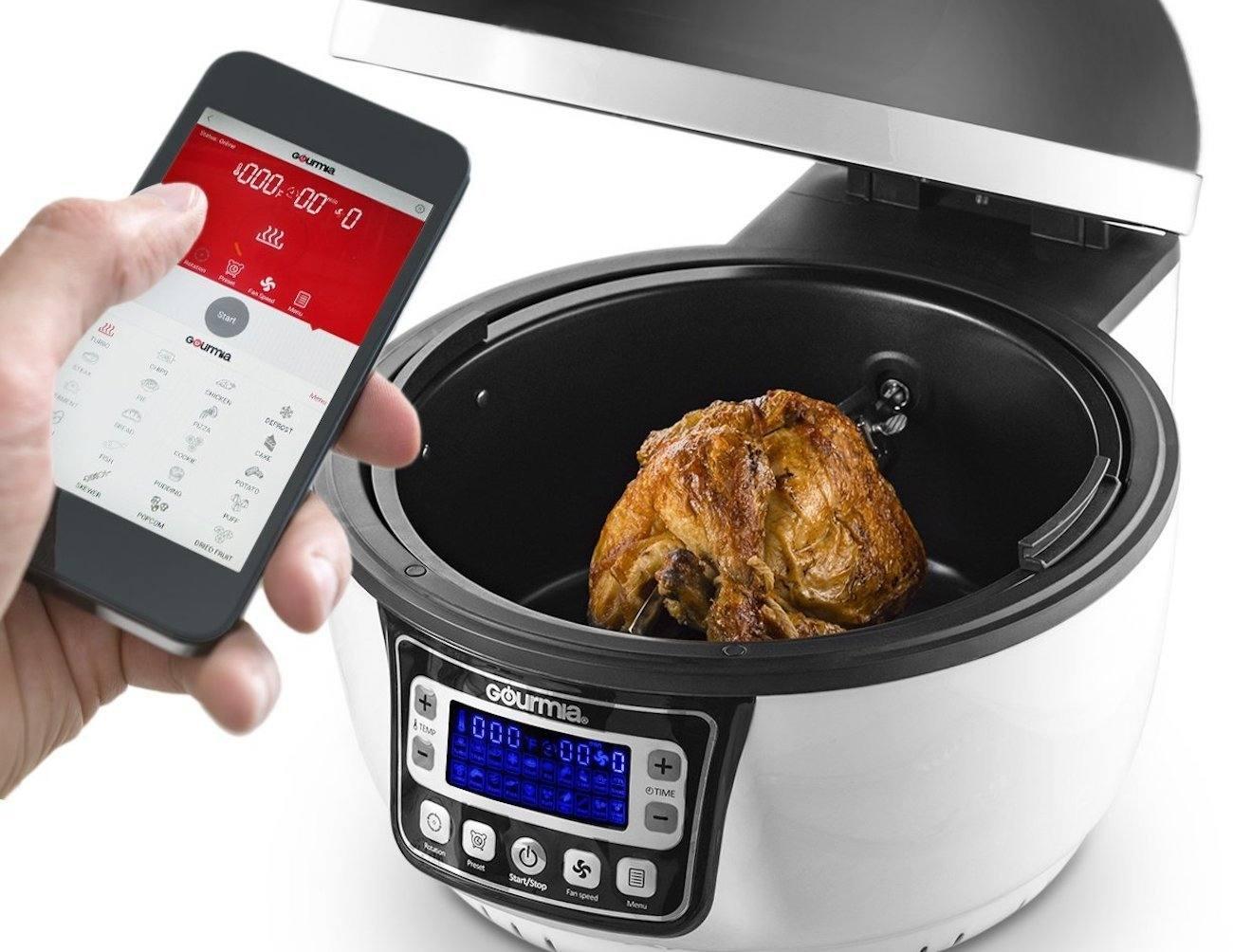 Gourmia Oil-Free Wi-Fi Air Fryer