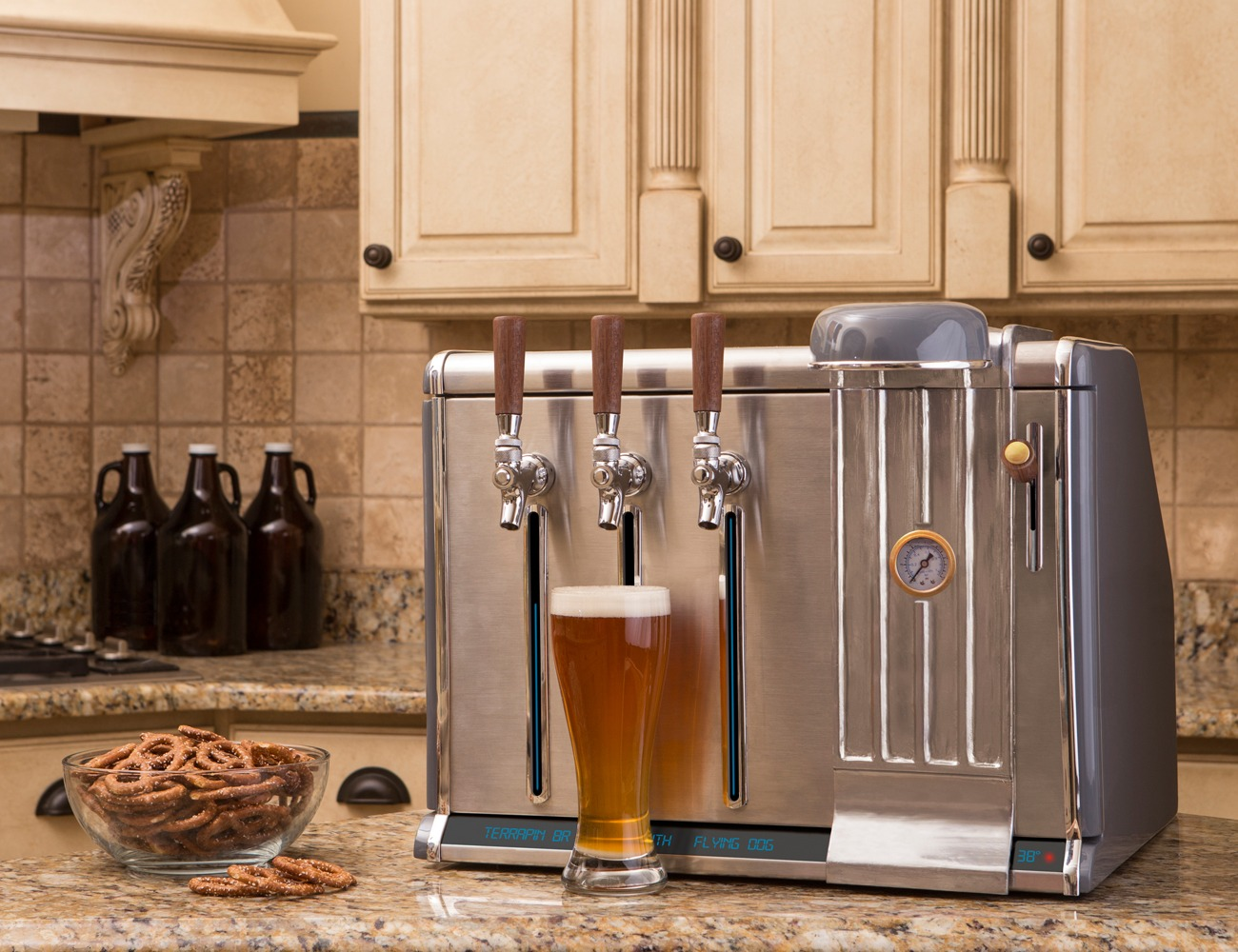 Growler Chill Refrigerated Counter Tap