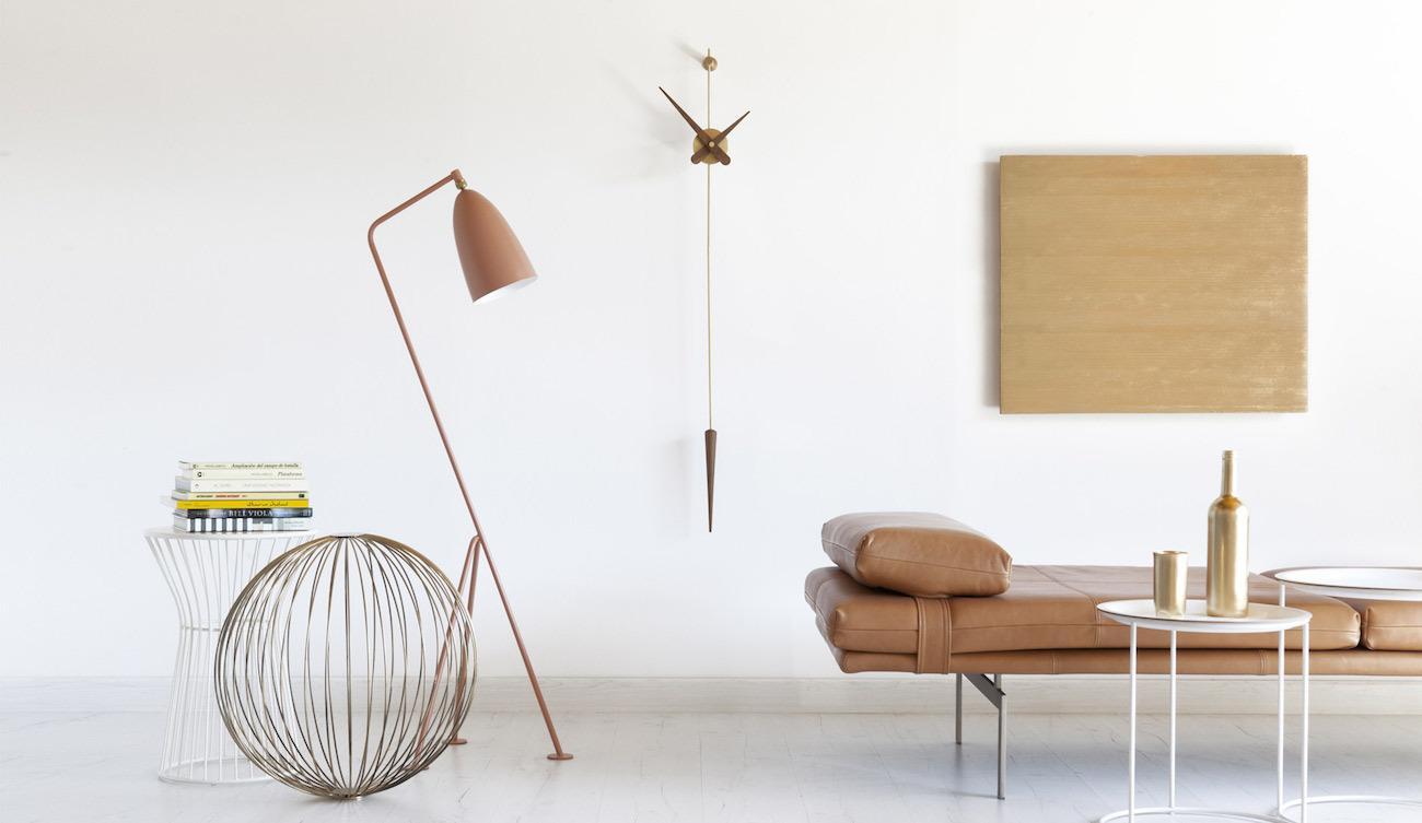 Contemporary+Pendulum+Clock