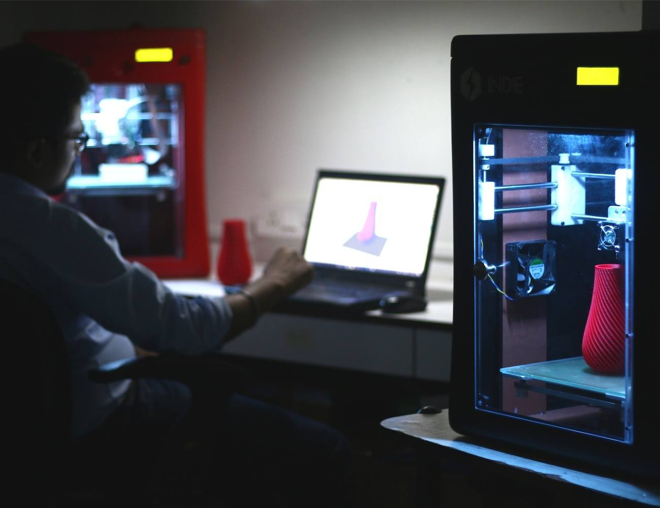 Indie Affordable Desktop 3D Printer