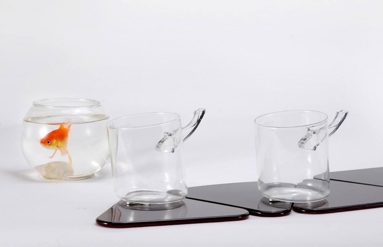 Interactive Koi Fish Coasters