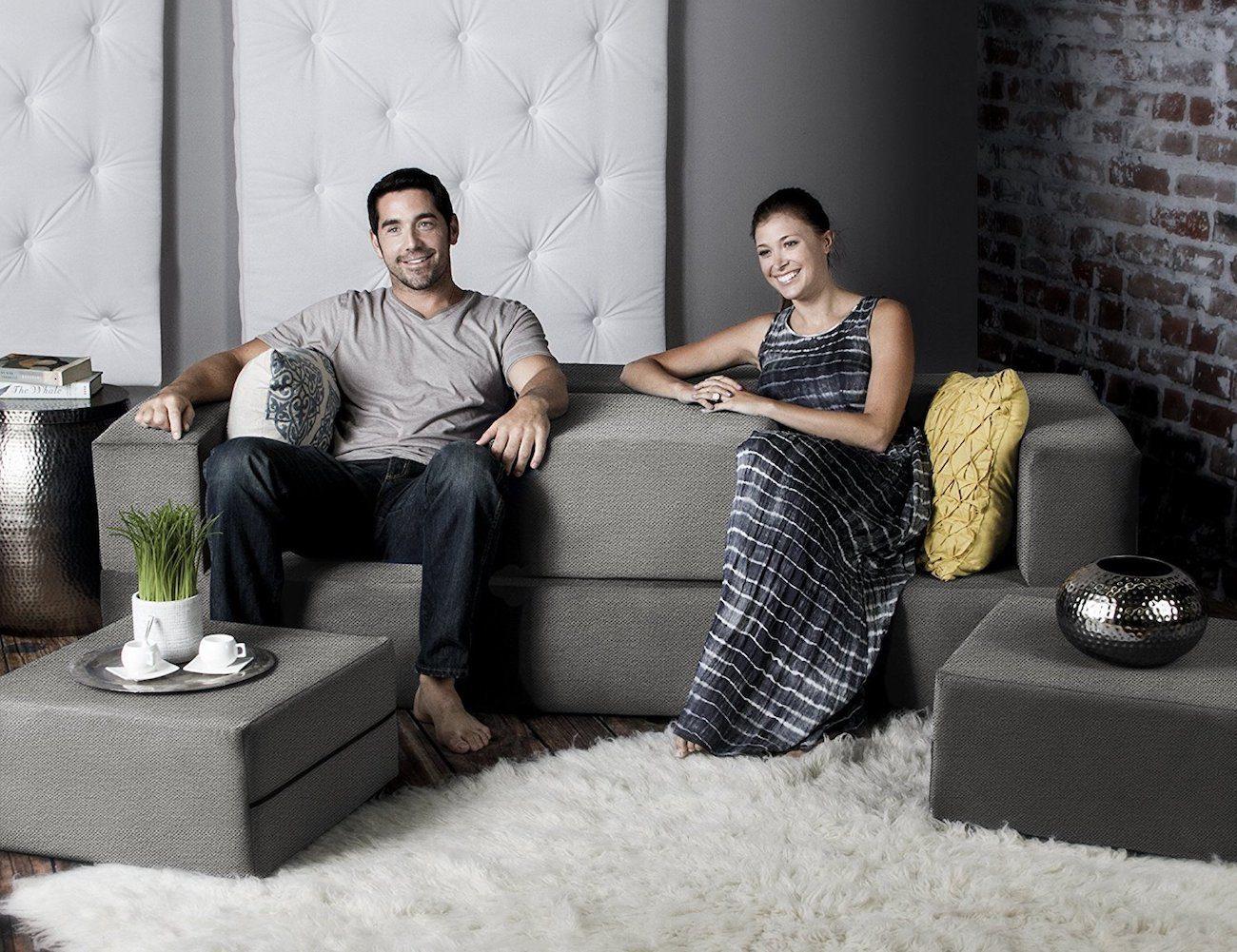 Jaxx Zipline Convertible Sofa Bed