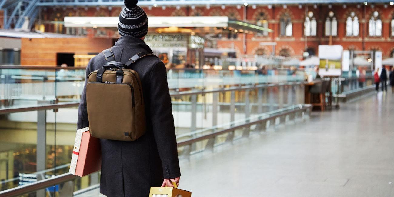 KNOMO Brompton James Tote Backpack