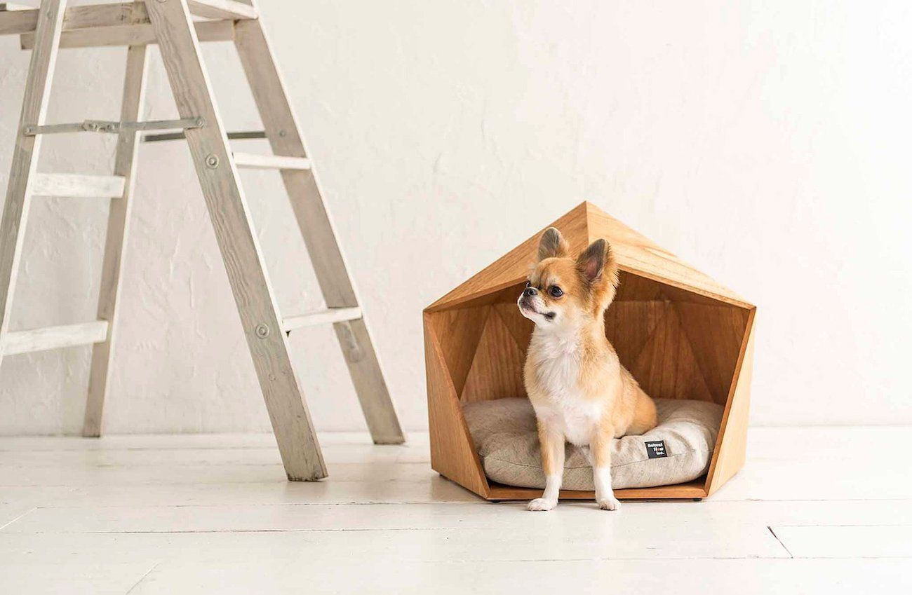 Kamakura Wooden Pet House