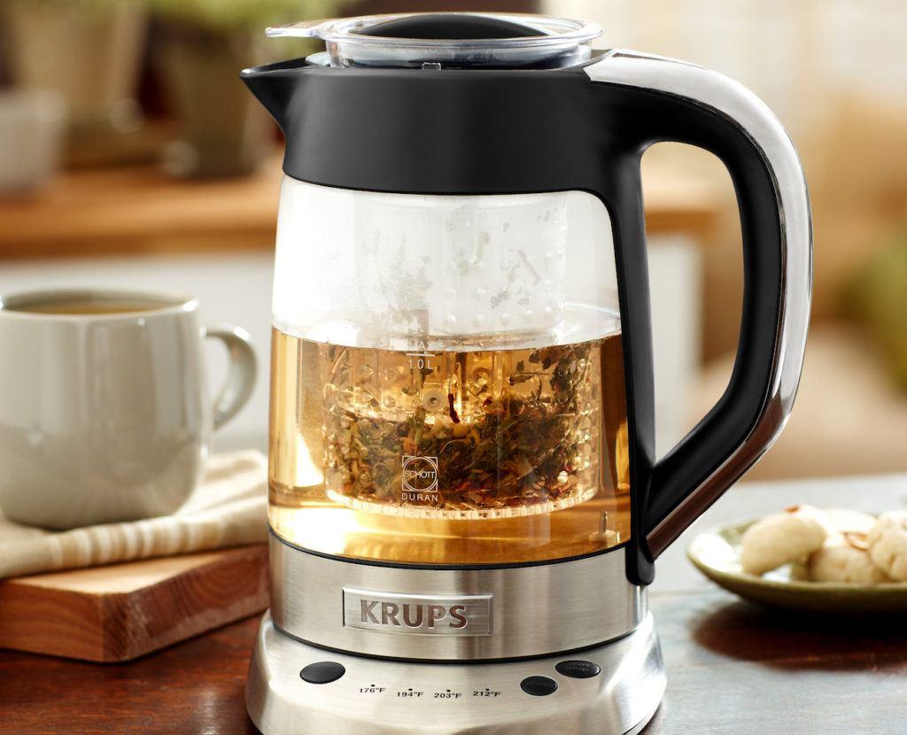 Krups+Electric+Glass+Kettle+Tea+Infuser