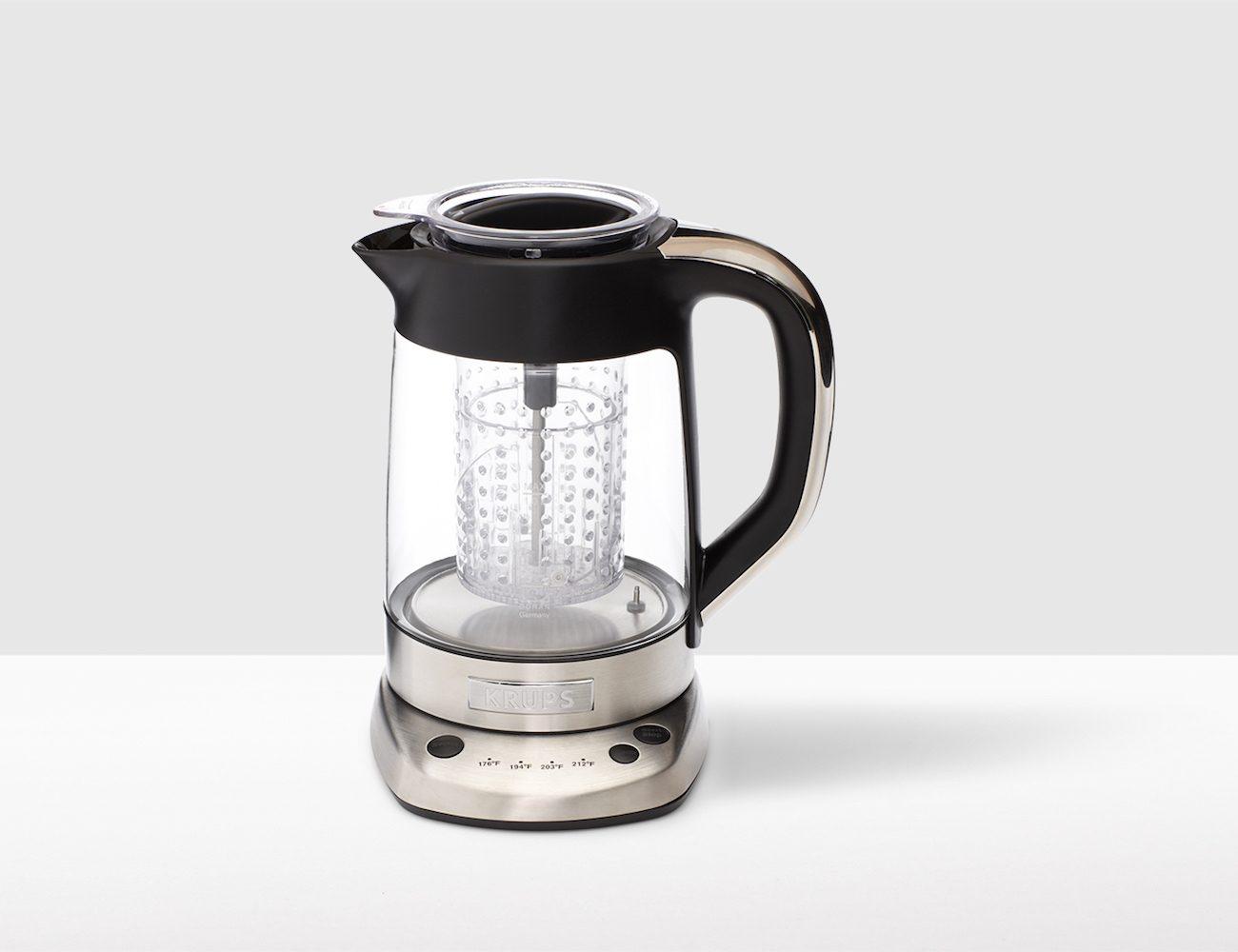 Krups Electric Glass Kettle Tea Infuser 187 Gadget Flow