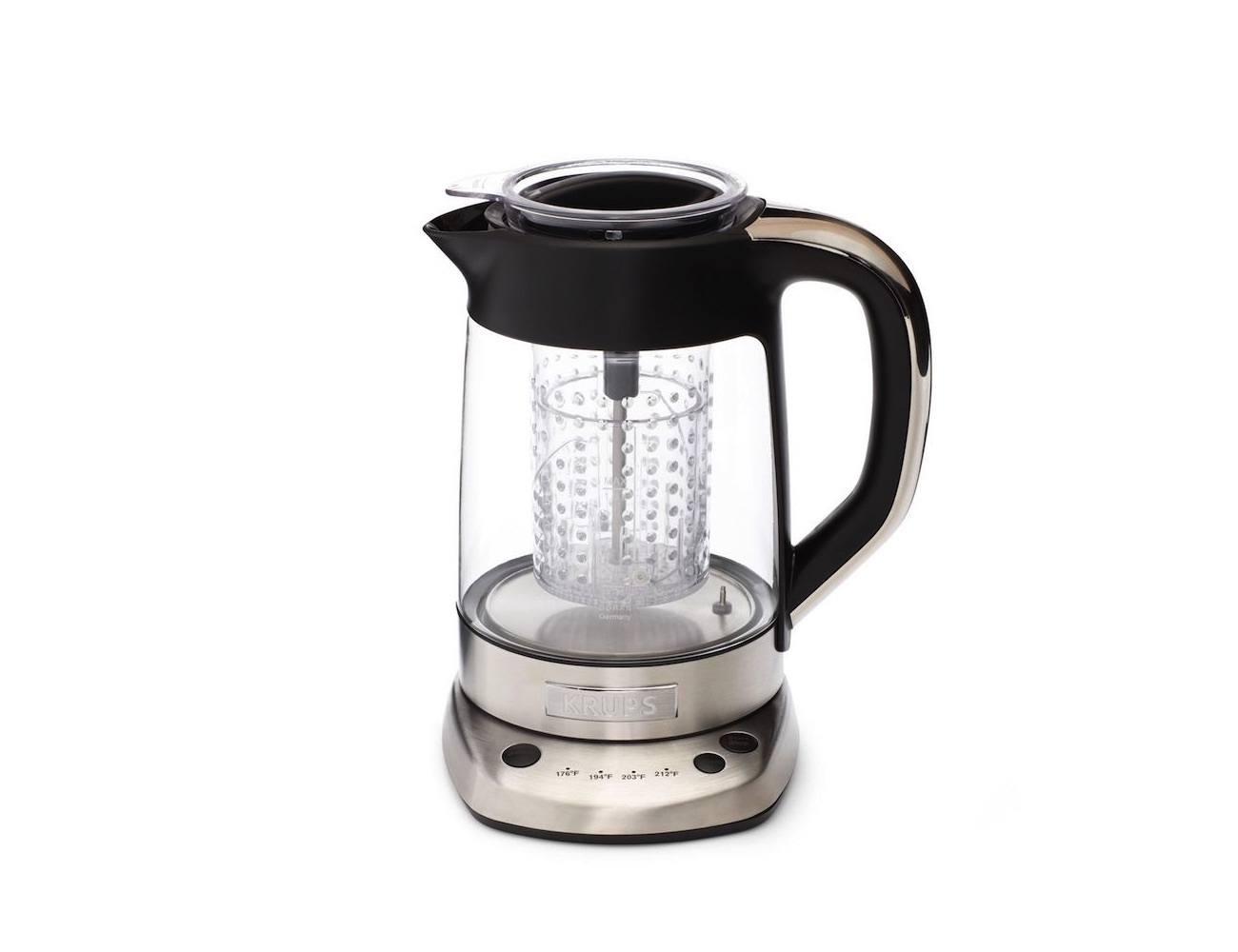Krups Electric Glass Kettle Tea Infuser