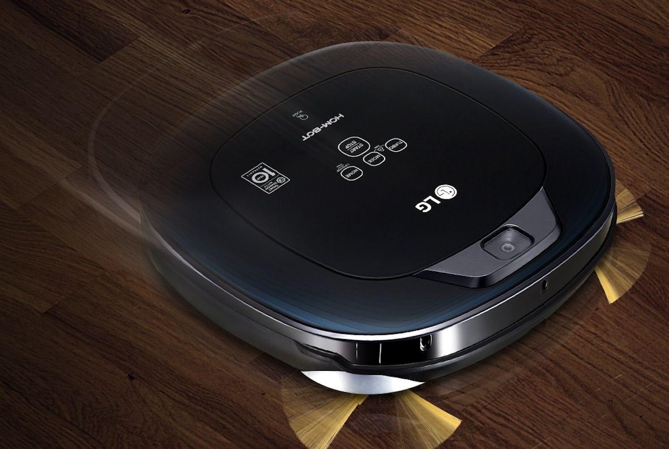 LG+Hom-Bot+Robotic+Mop+Vacuum