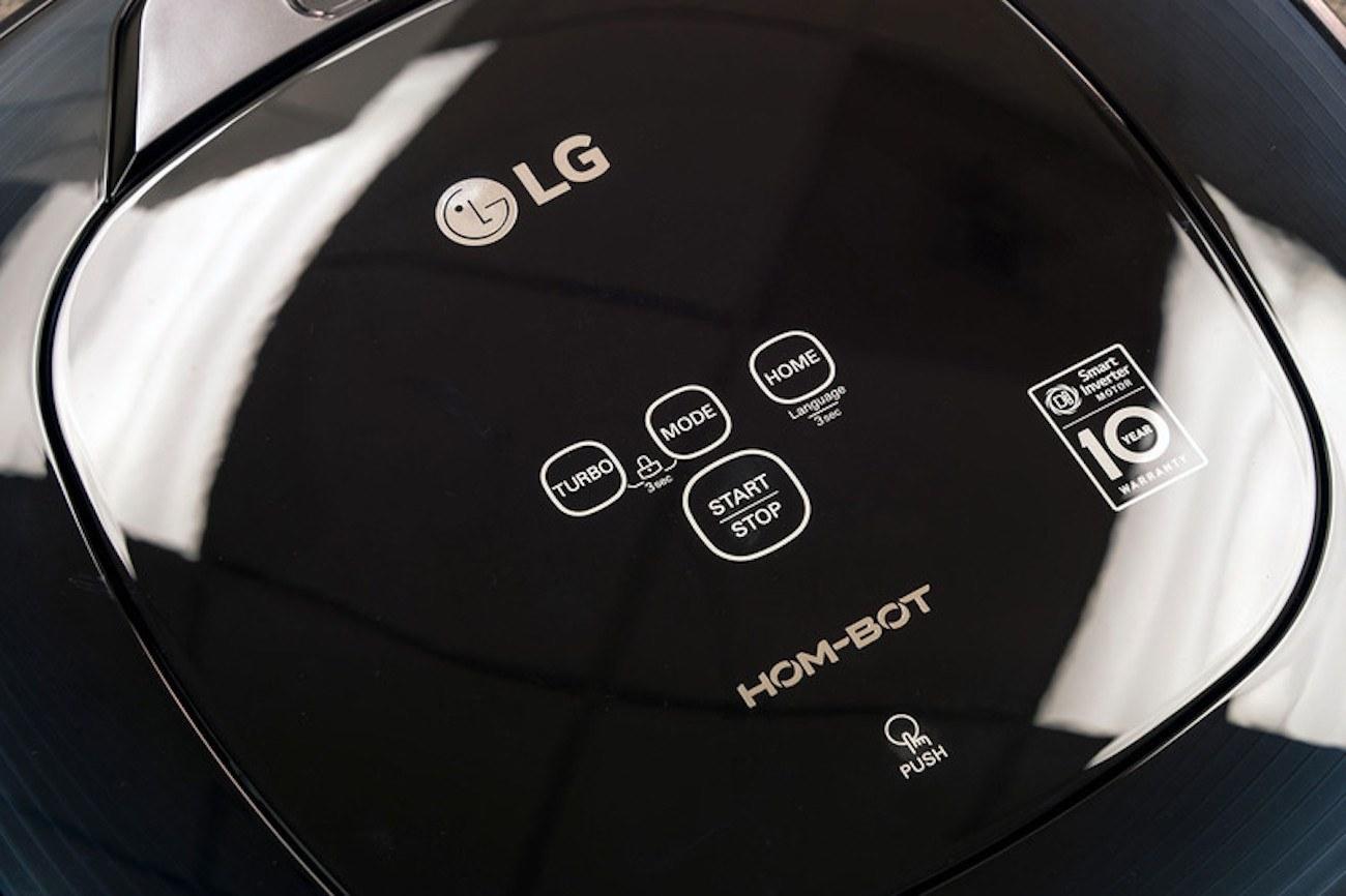 LG Hom-Bot Robotic Mop Vacuum