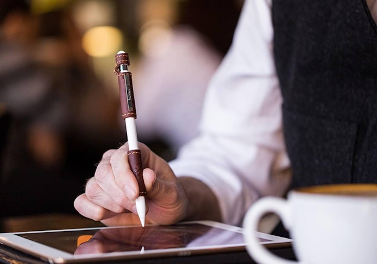 Leather Apple Pencil Grip