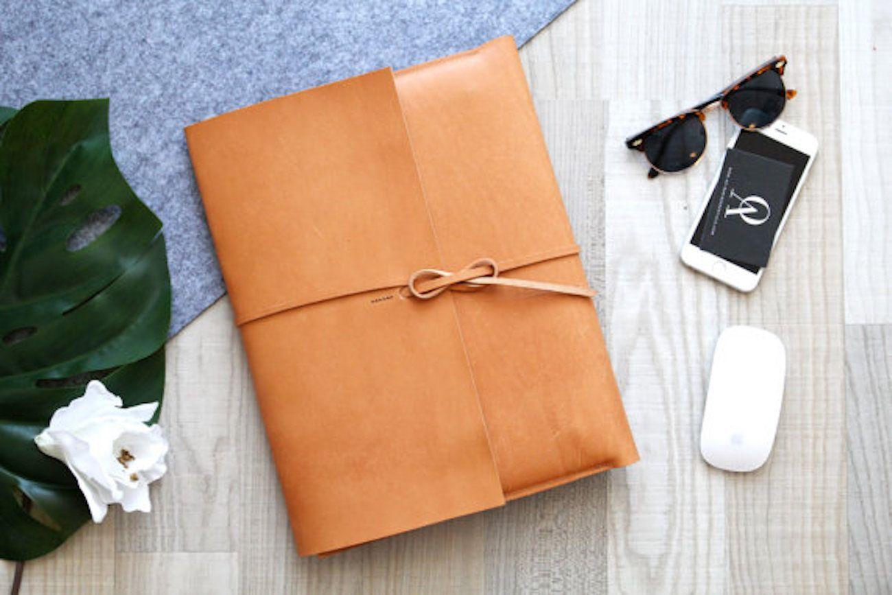 Leather MacBook Portfolio Cover