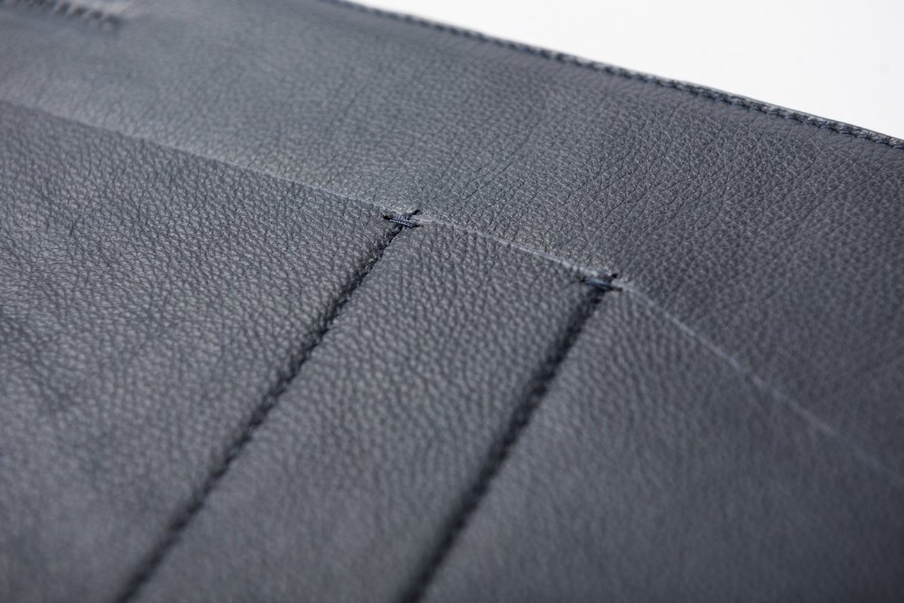 Leather MacBook Sleeve by Quell and Co