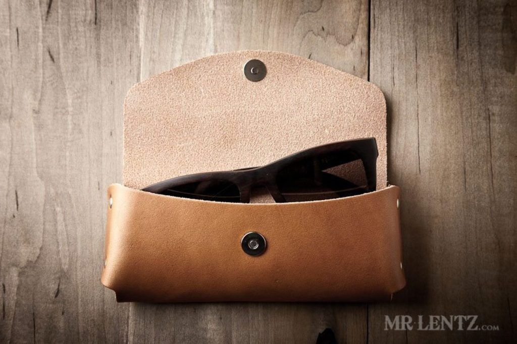 Leather+Sunglasses+Case+by+Mr.+Lentz