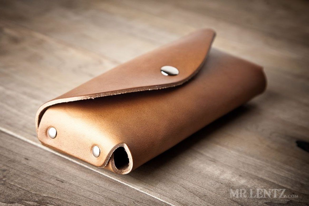 Leather Sunglasses Case by Mr. Lentz