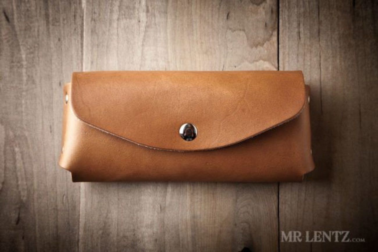 Leather Sunglasses Case by Mr. Lentz