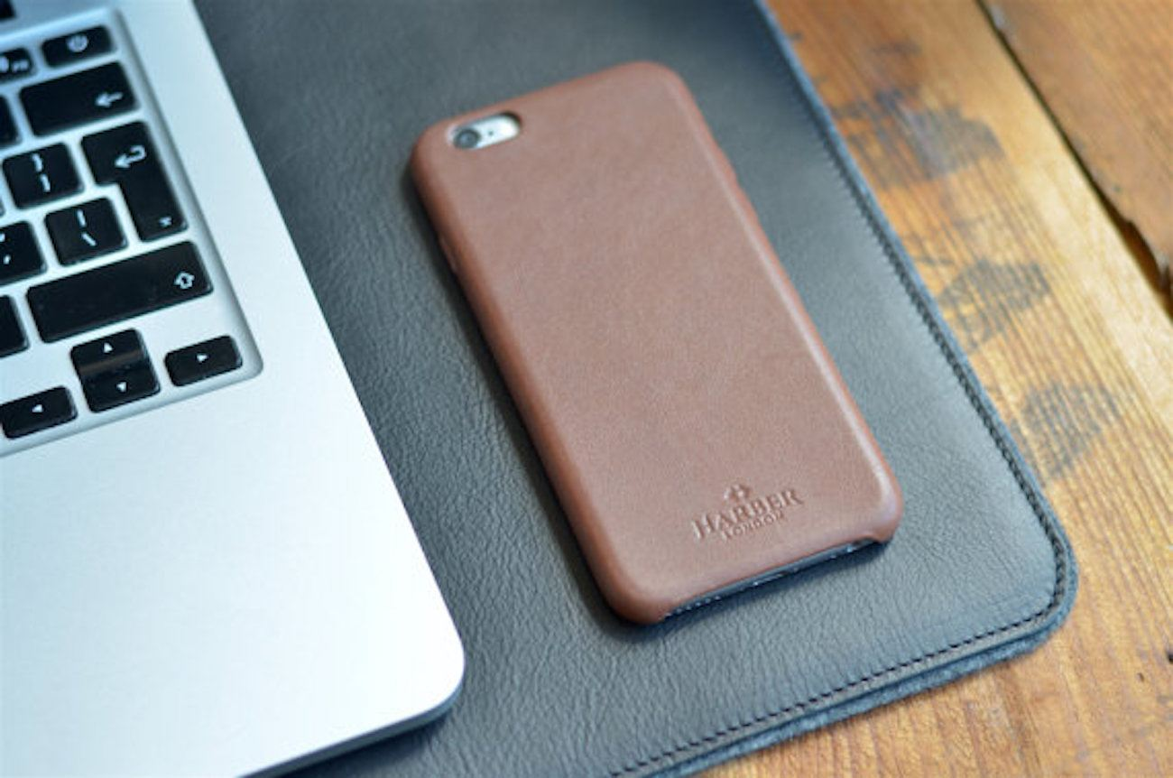 Leather iPhone 7 Case by Harber London