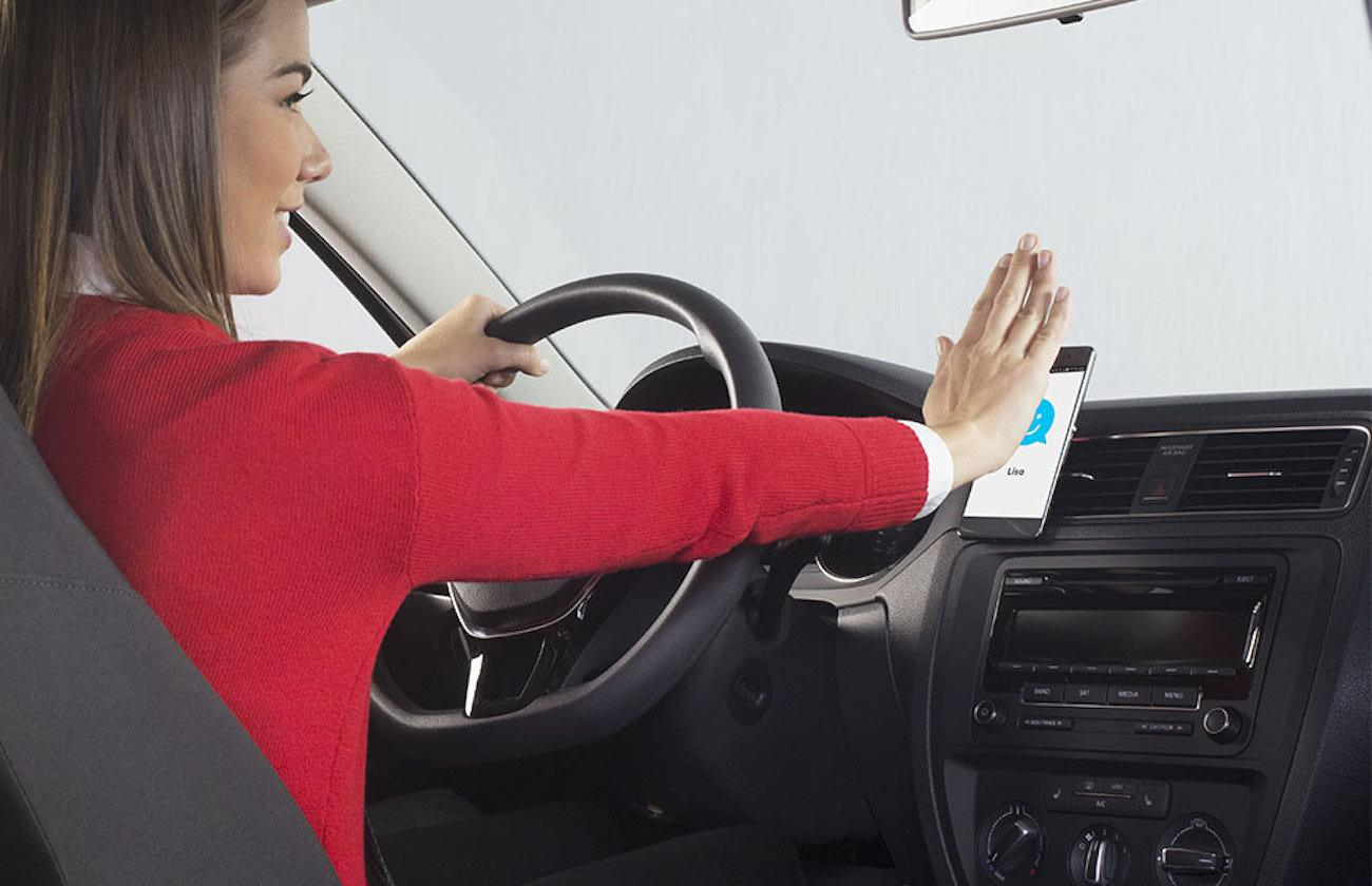 Logitech ZeroTouch Car Smartphone Holder