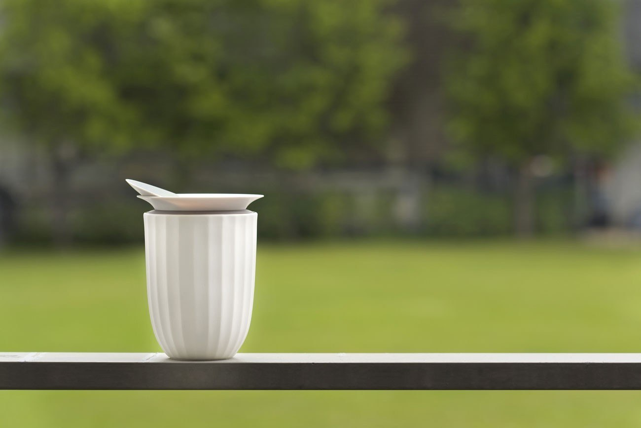 Lotus Porcelain Tea Cup