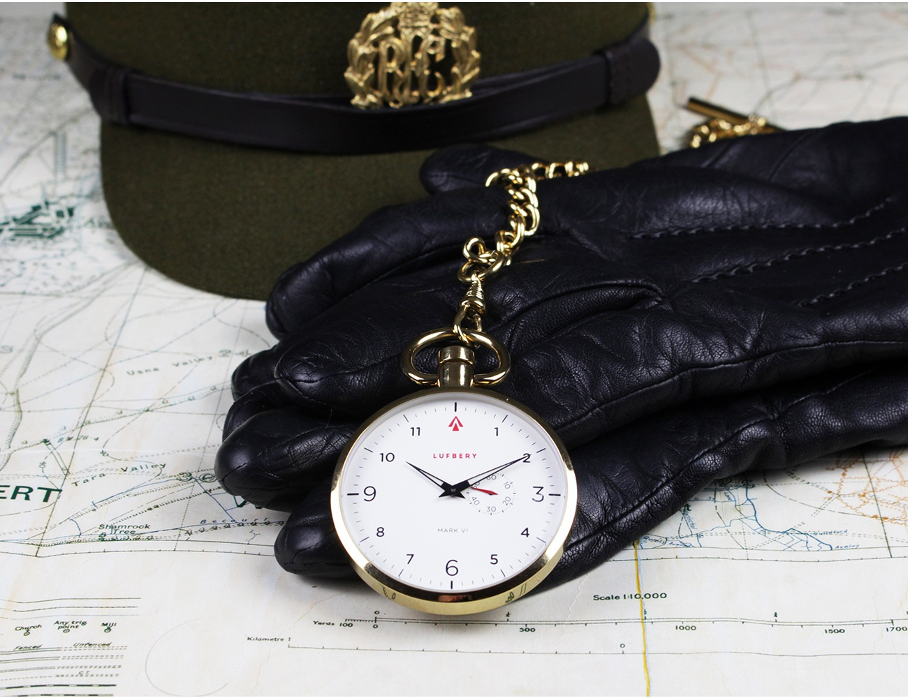 Lufbery WW1-Inspired Pocket Watches