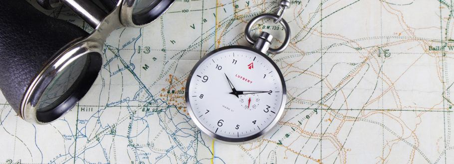 The Lufbery Pocket Watches Take Inspiration from WWI