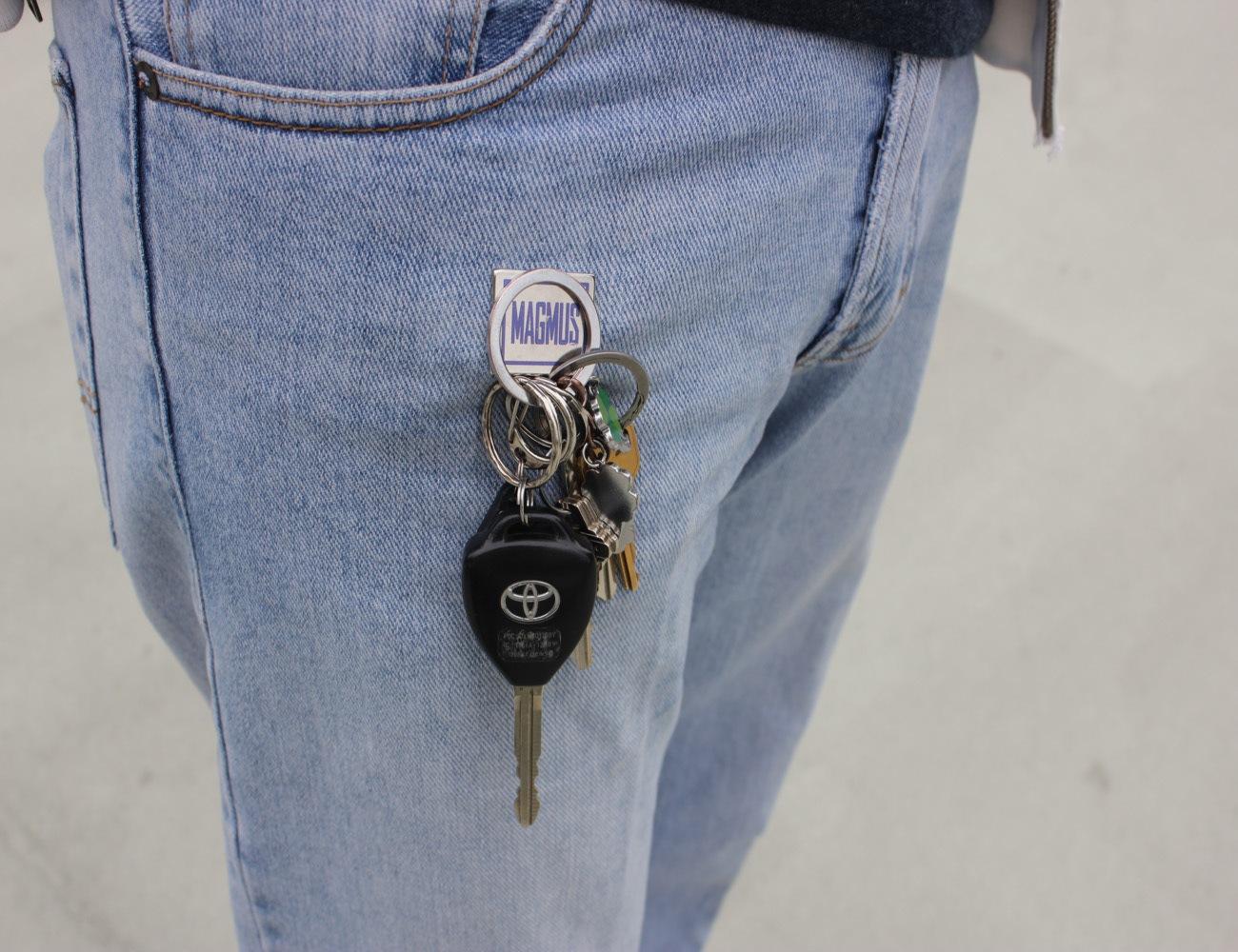 MAGMUS Magnetic Key Ring Holder