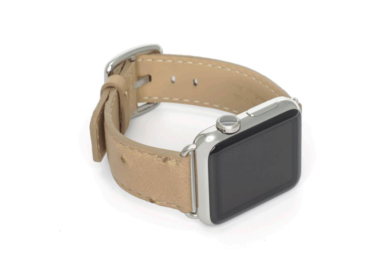 Meridio Canvasback Leather Apple Watch Strap