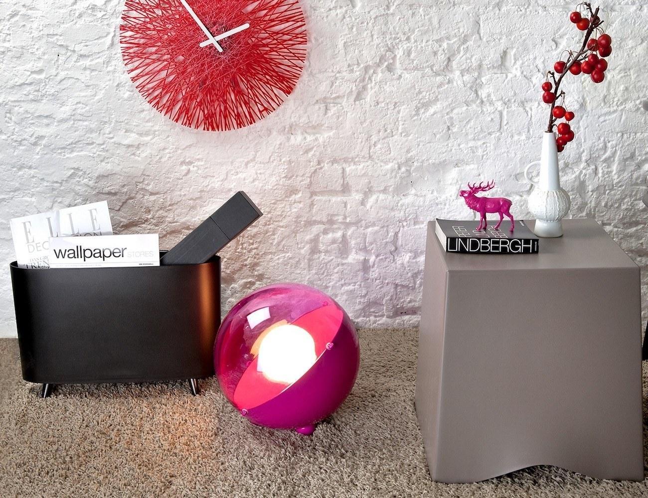 Milano Plastic Magazine Rack