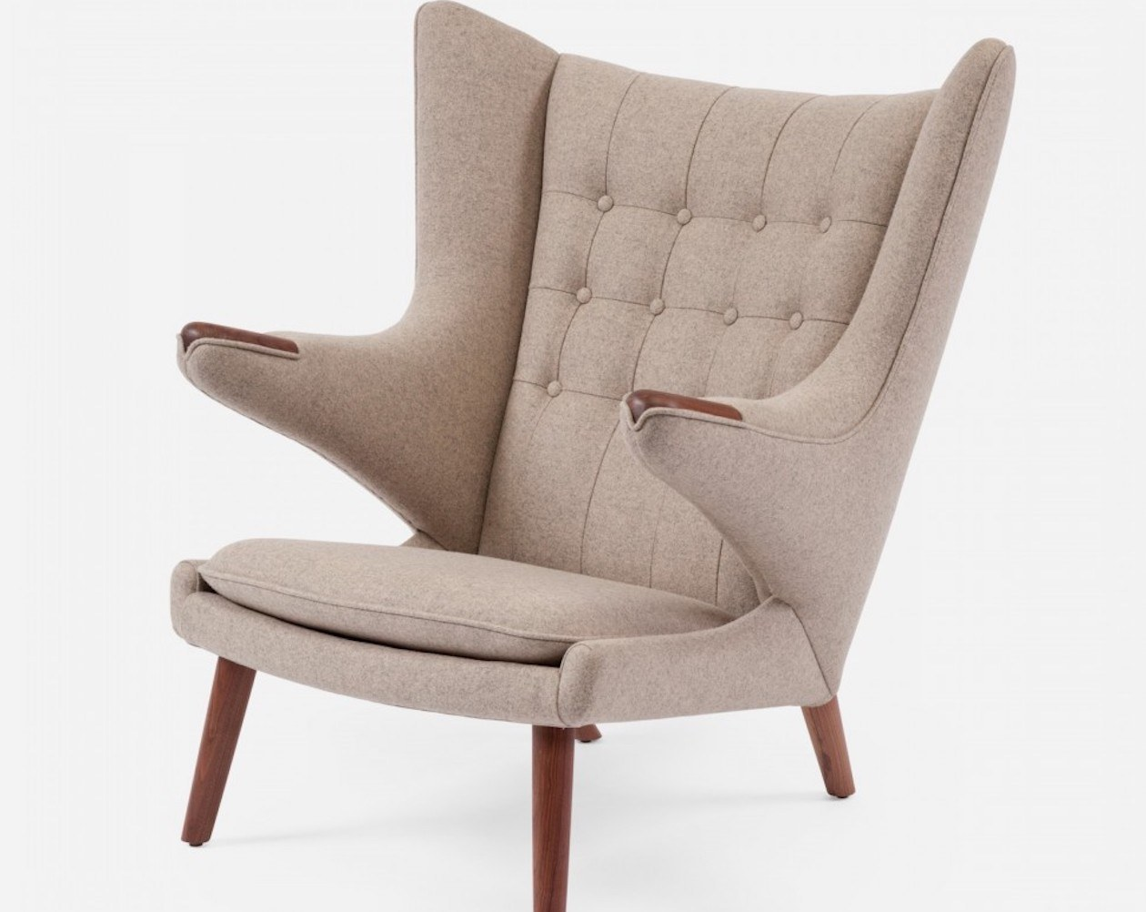 Modernica Papa Bear Upholstered Chair 187 Gadget Flow