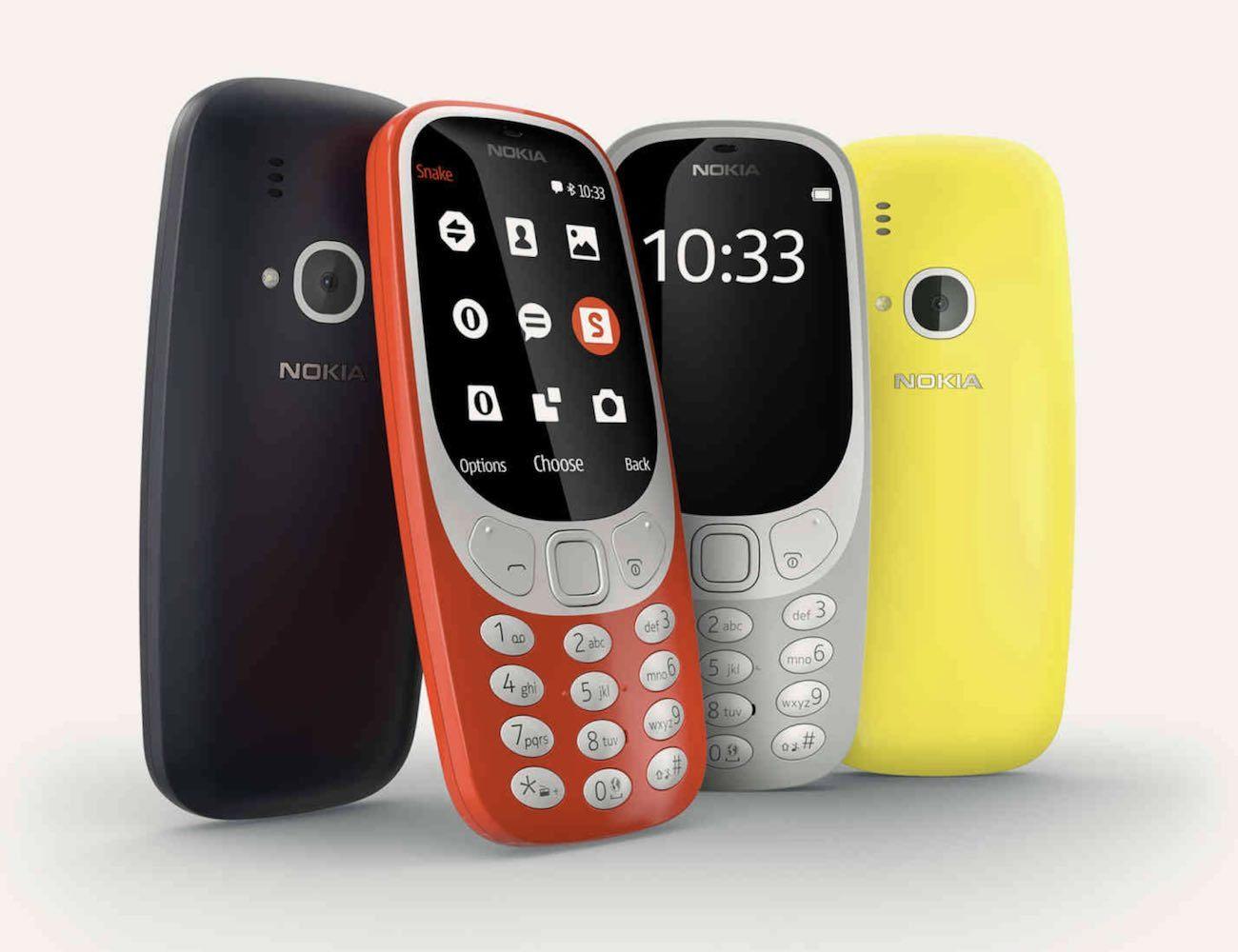Nokia 3310 Classic Cellphone