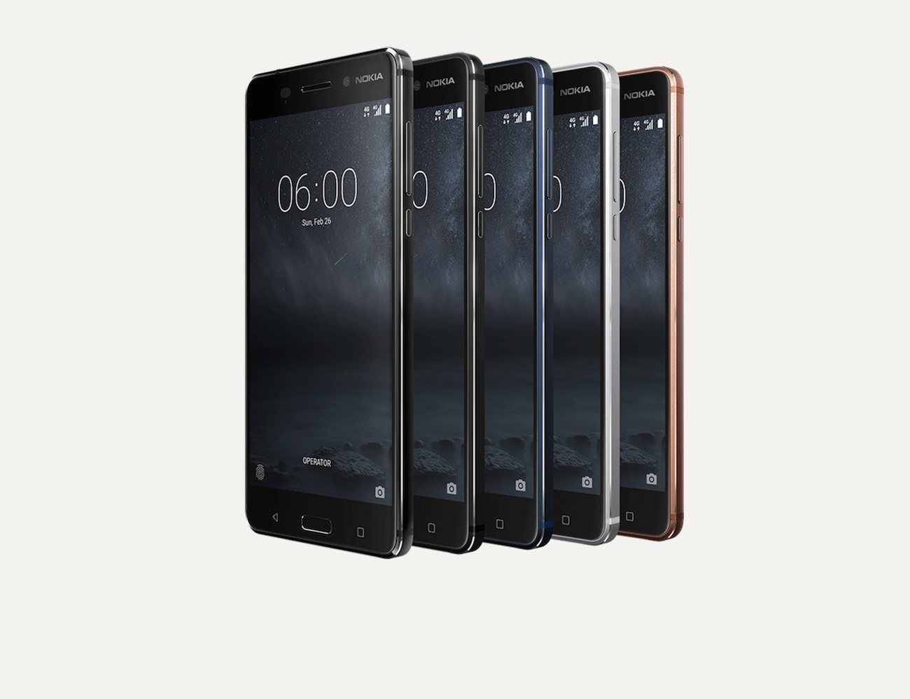 nokia 6 immersive android smartphone gadget flow. Black Bedroom Furniture Sets. Home Design Ideas