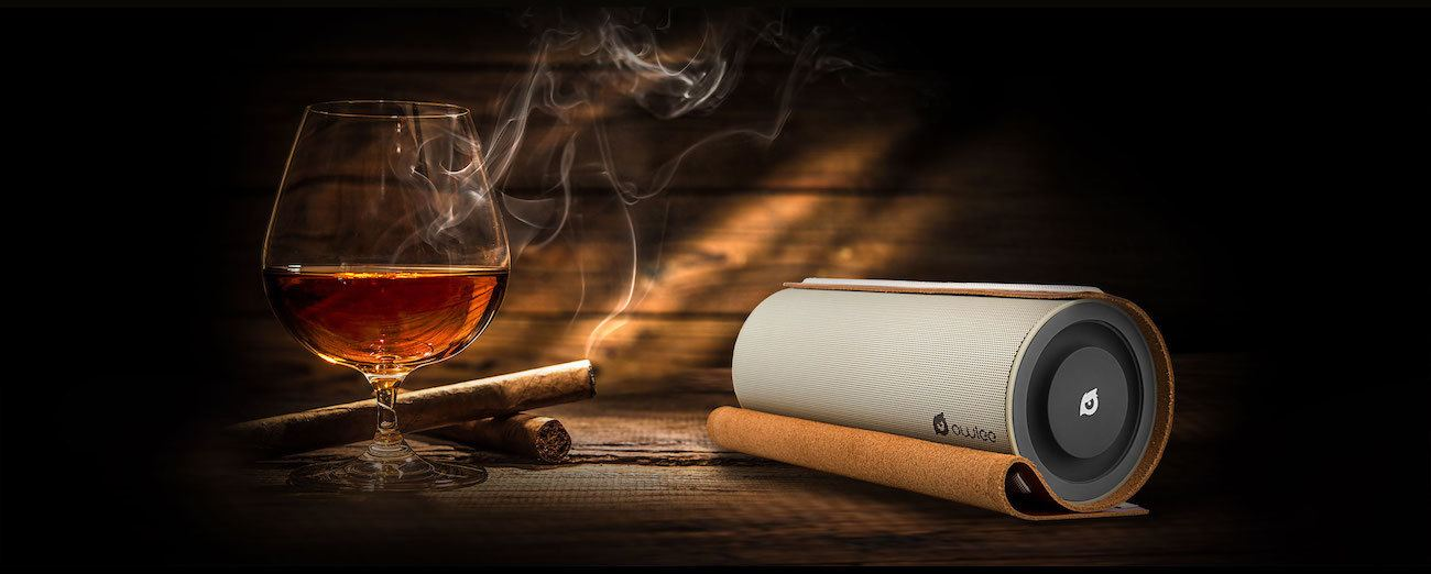 Owlee Scroll Vintage Bluetooth Speaker