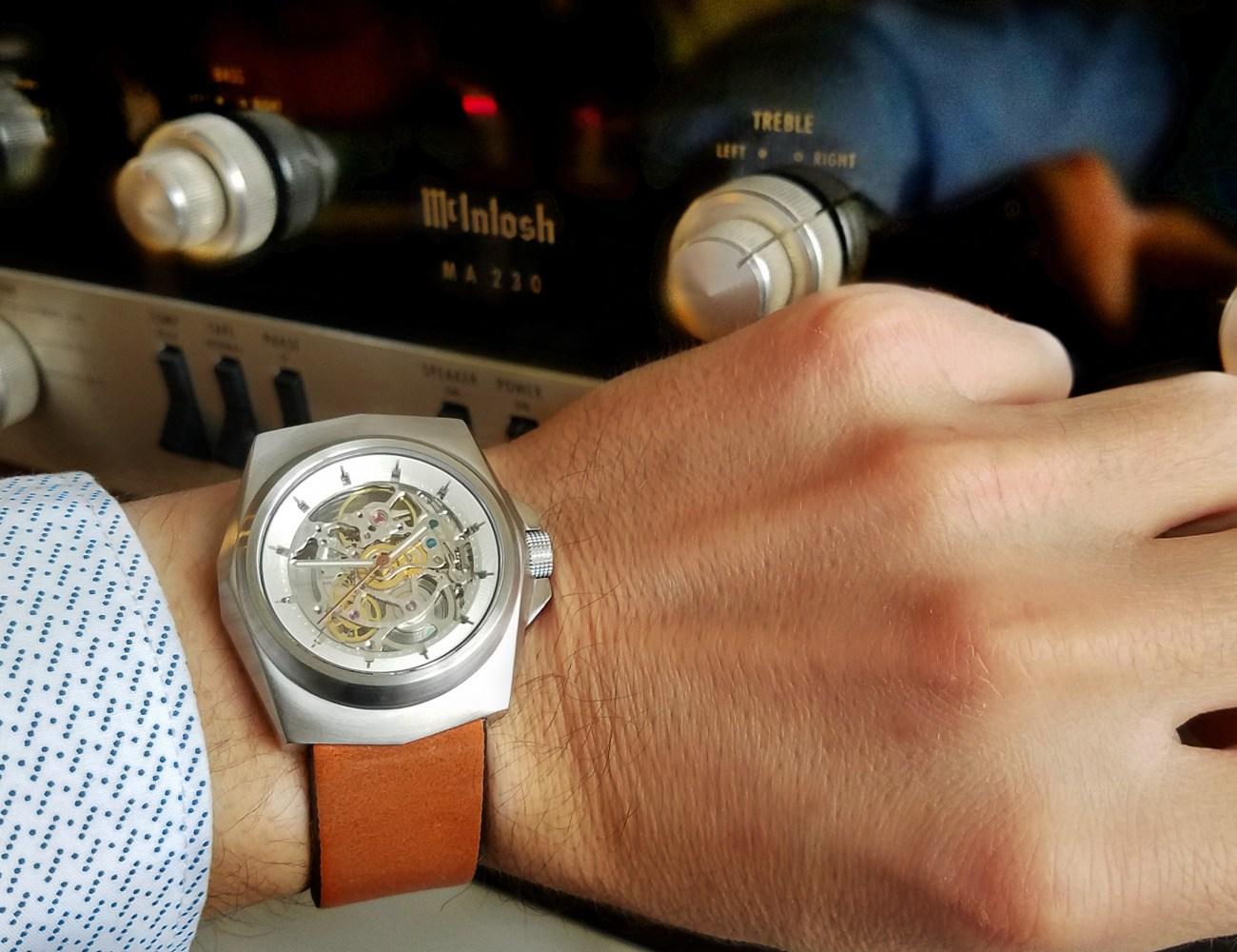 Padron Tessera X-Ray Automatic Watch