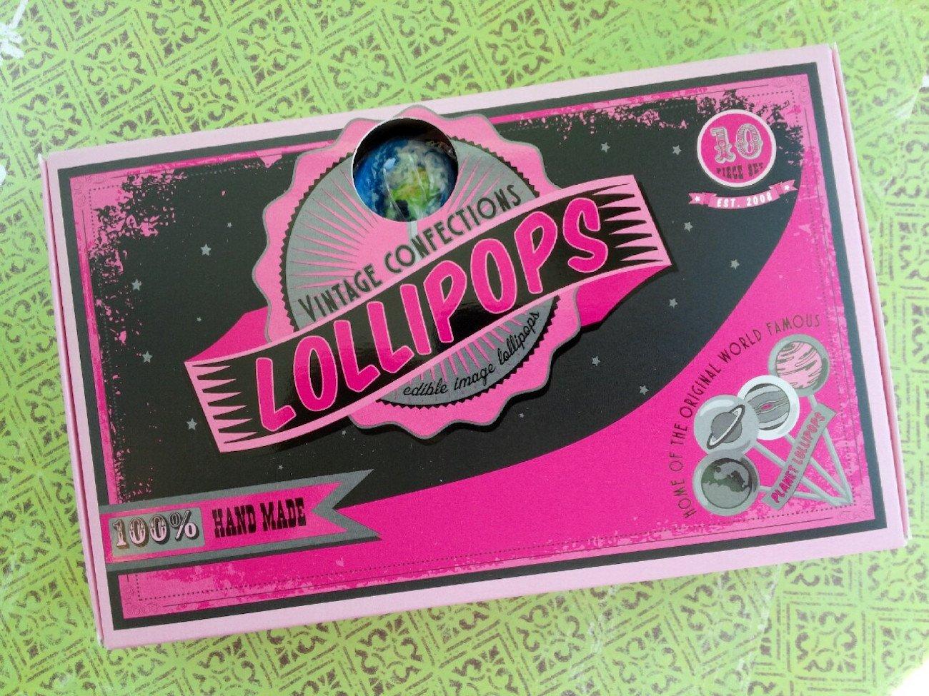 Planet Lollipops by Vintage Confections