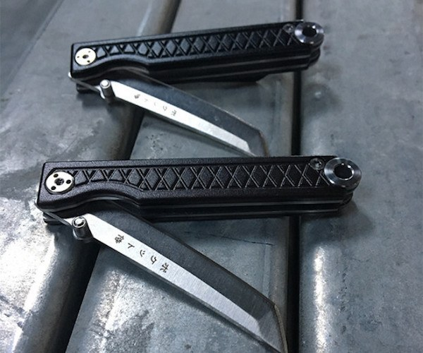 Pocket Samurai EDC Keychain Knife