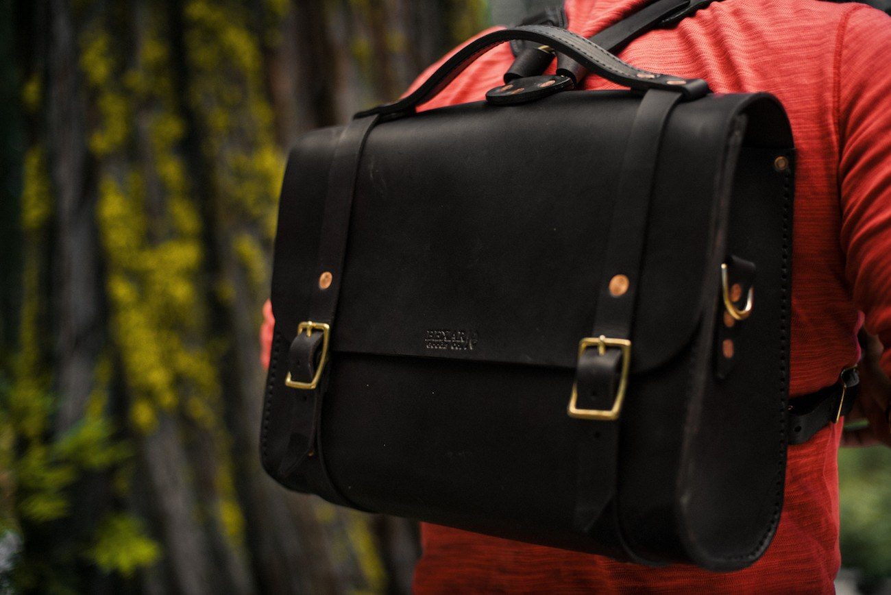 Porter Handmade Leather Satchel