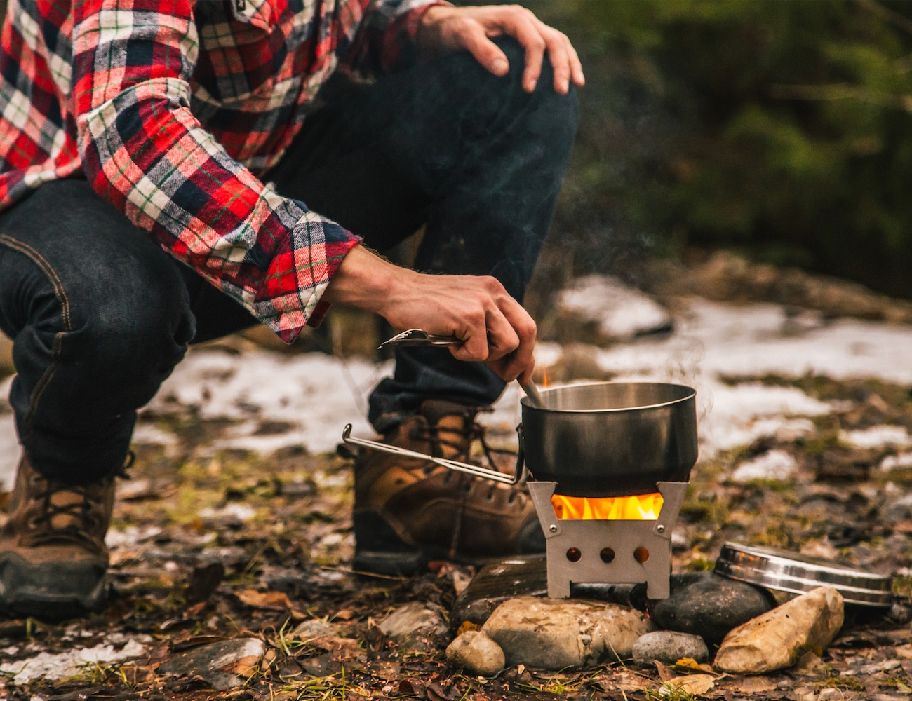 QuickStove Emergency Cooking Kit
