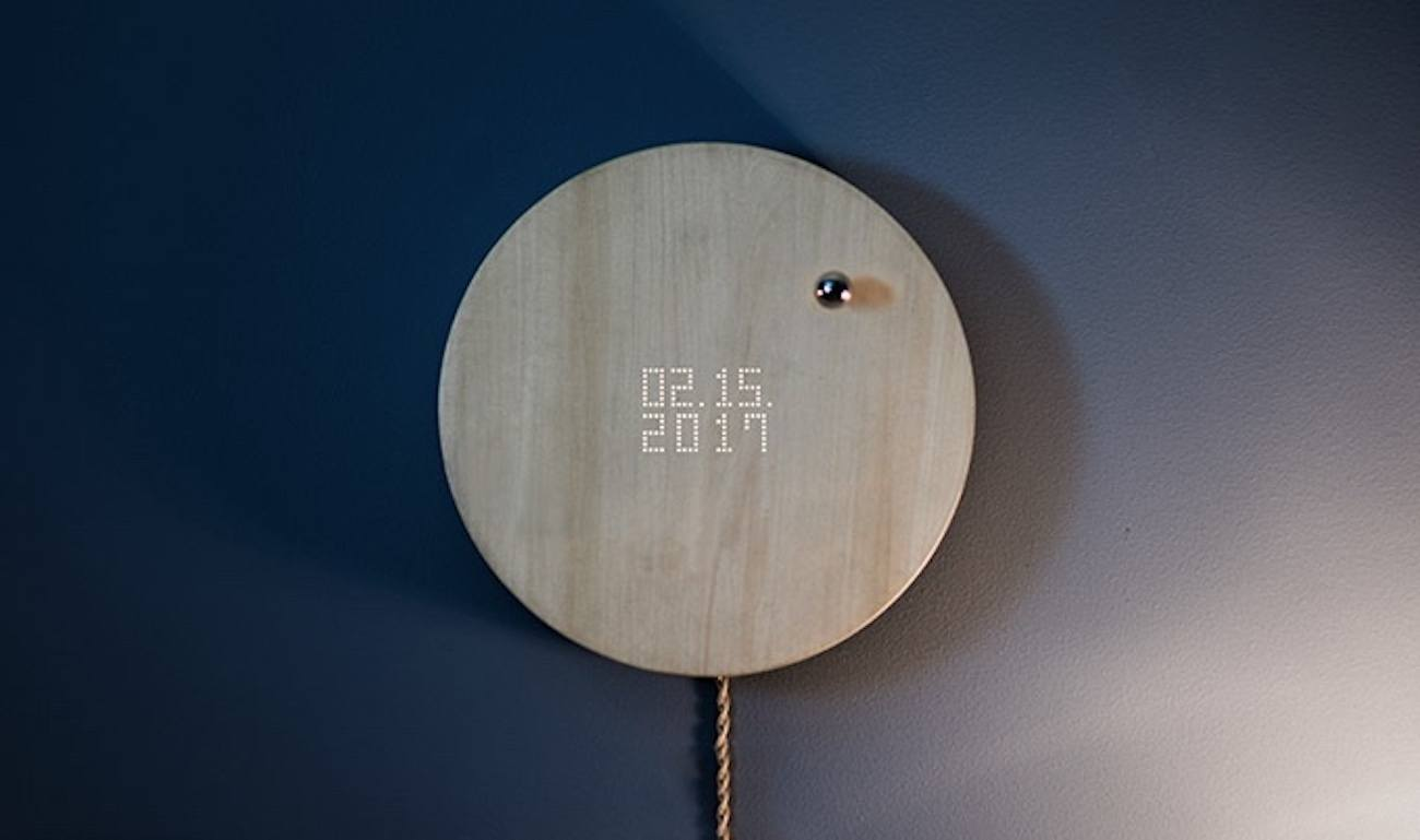 Story Levitating Timepiece by Flyte