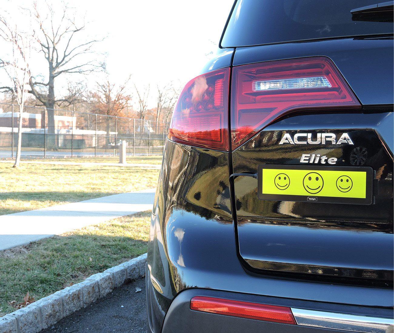 Talelight Electronic Bumper Sticker