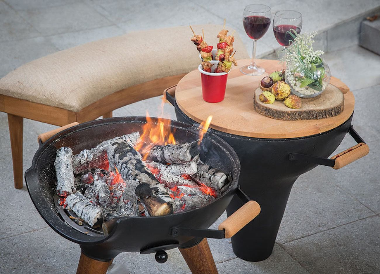 Transforming+Hinged+Chiminea+Grill