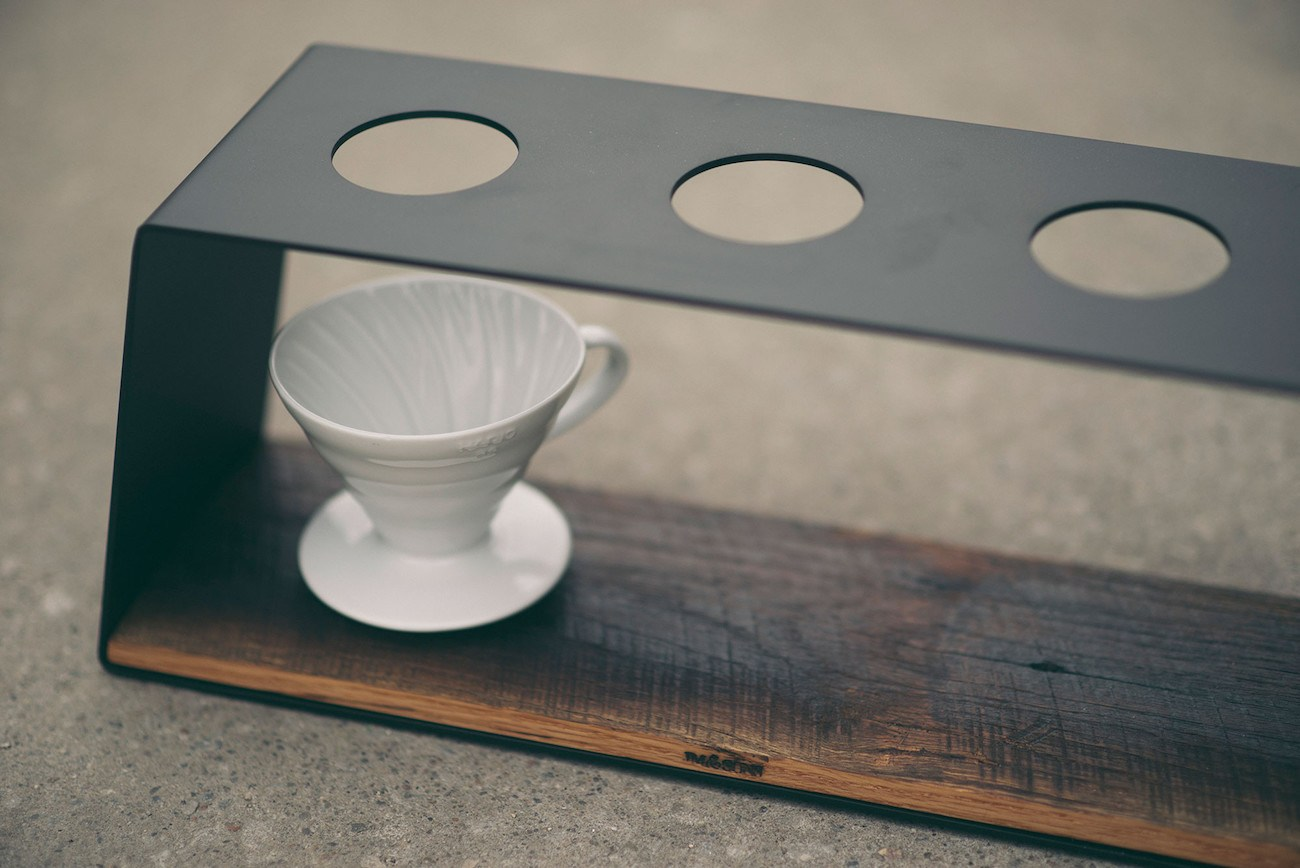 Triple Pour Over Coffee Stand