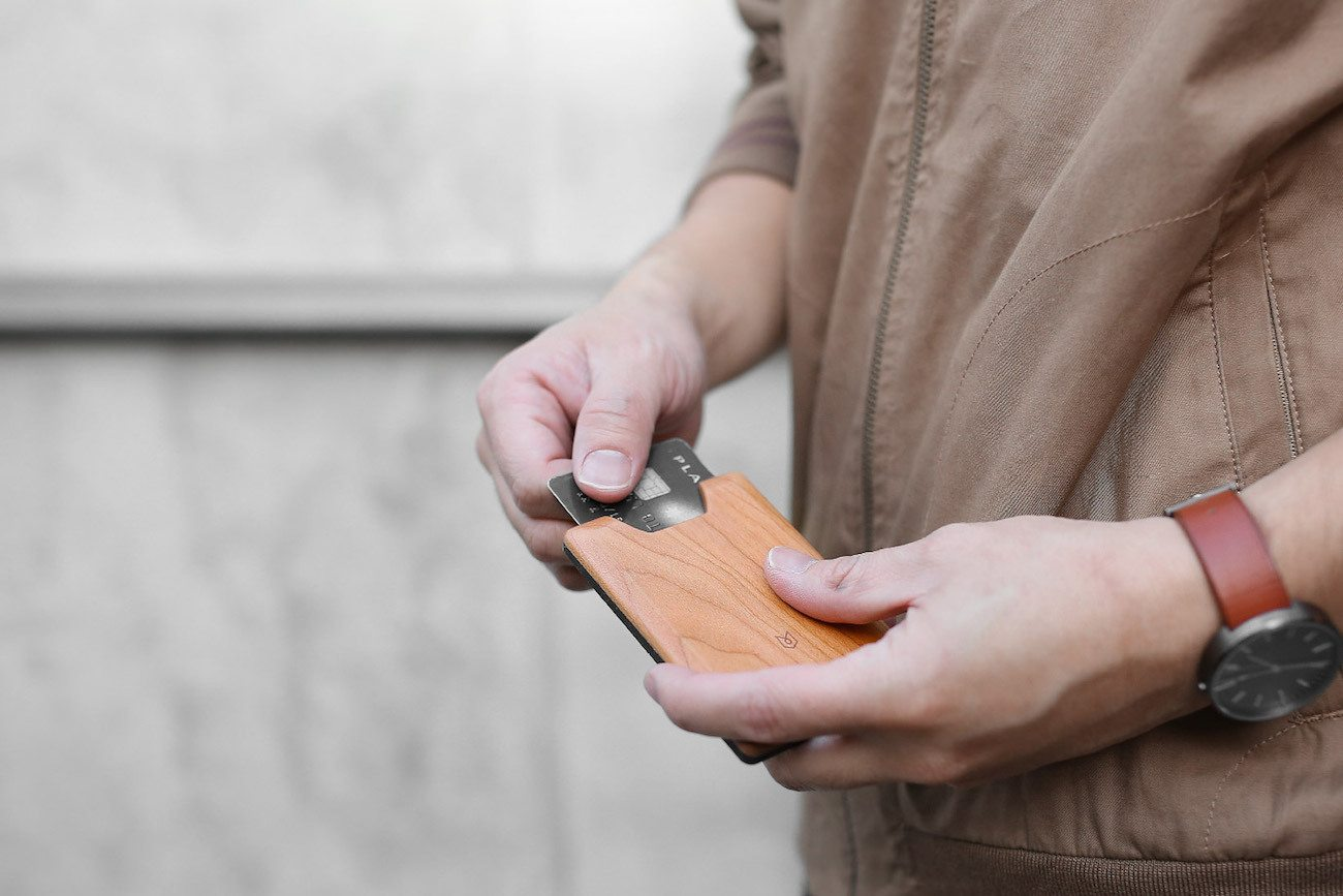 Union Wooden Wallet by Madera