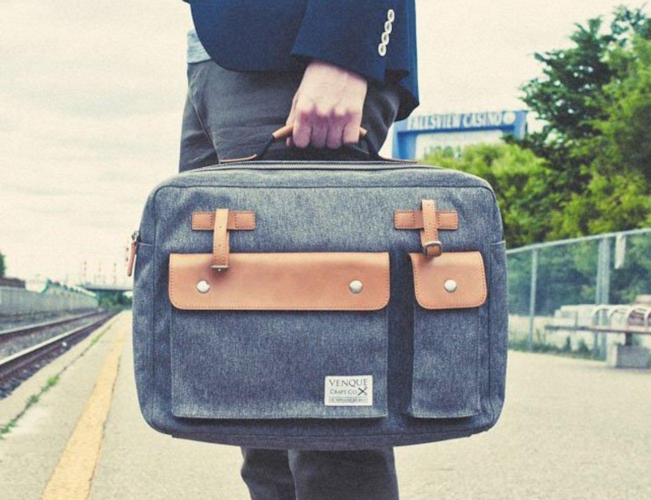 Venque Milano Laptop Briefcase