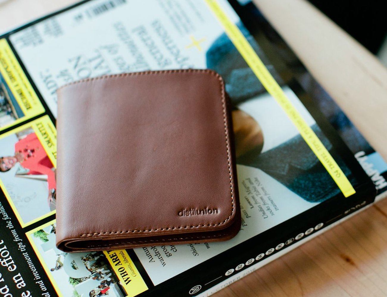 Wally Agent Slim Billfold Wallet