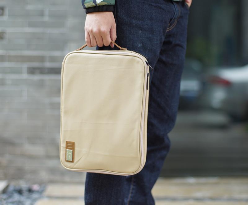 Handmade MacBook Case with Organizer