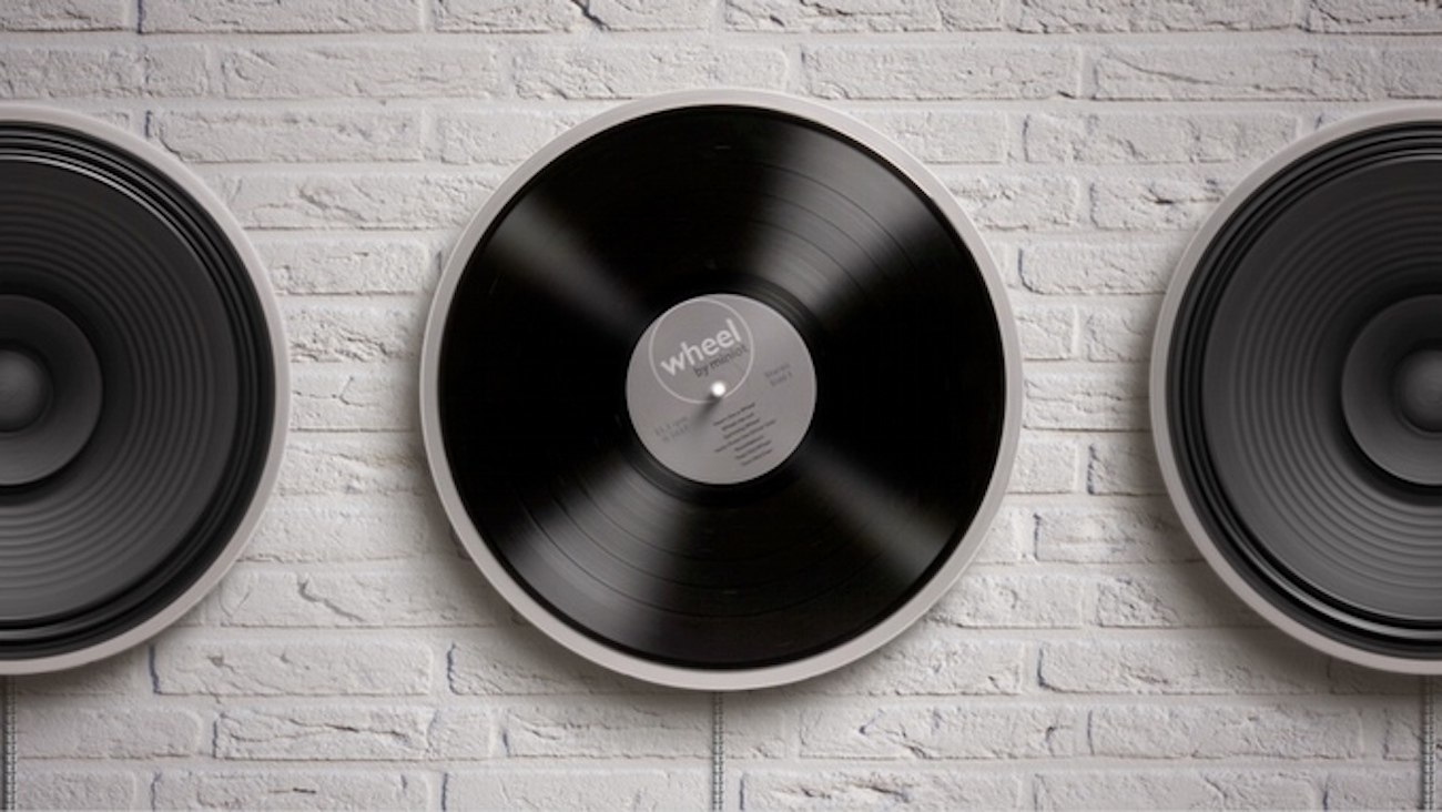 Wheel Minimal Record Player