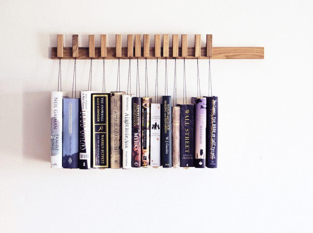 Wooden+Book+Rack+in+Oak