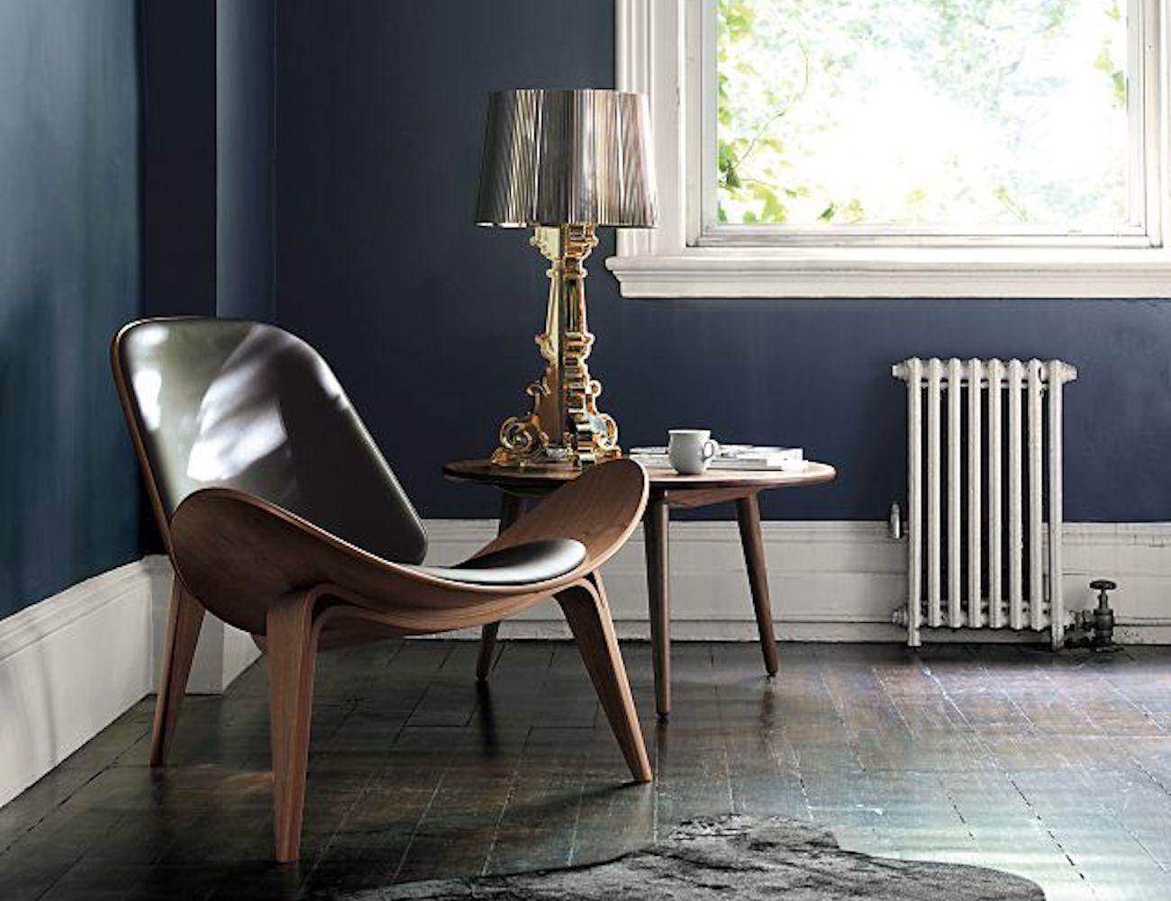Bon Wooden Shell Luxury Chair