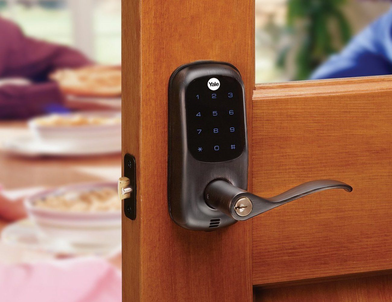 Yale Real Living Keyless Lever Lock 187 Gadget Flow