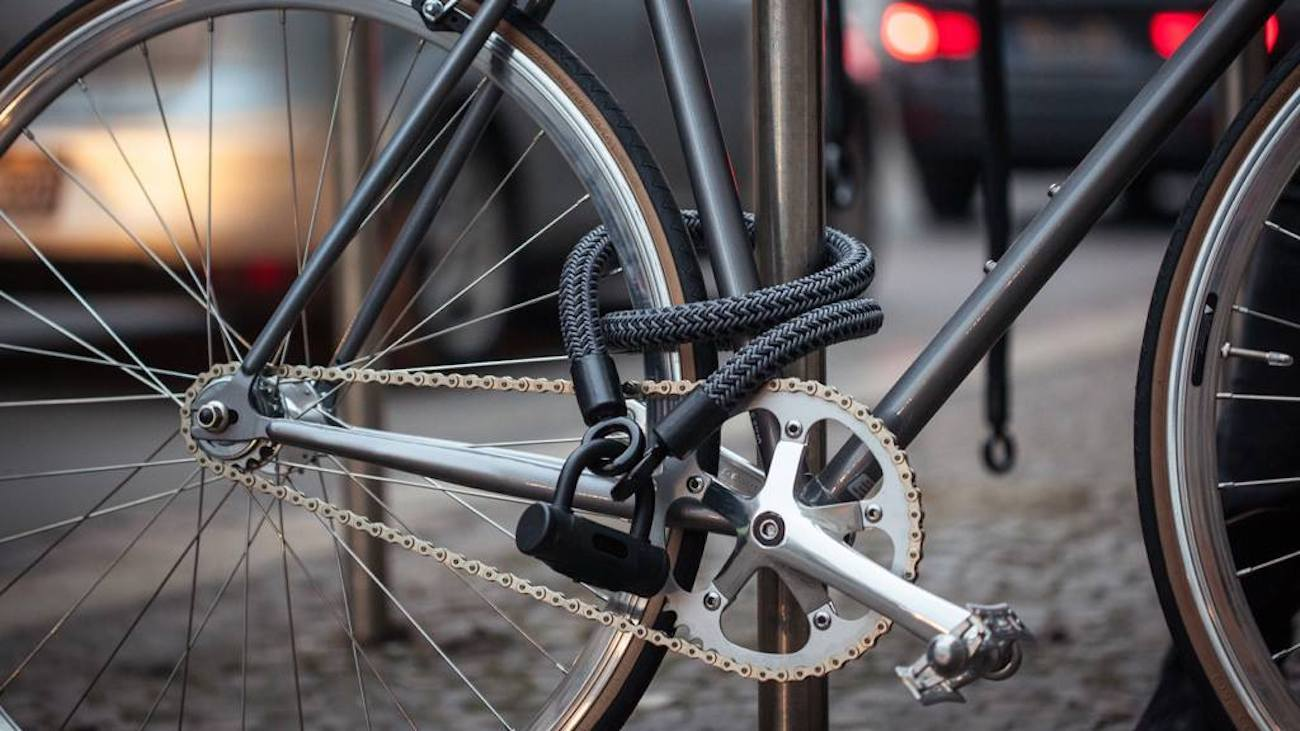 High-Tech Bike Lock
