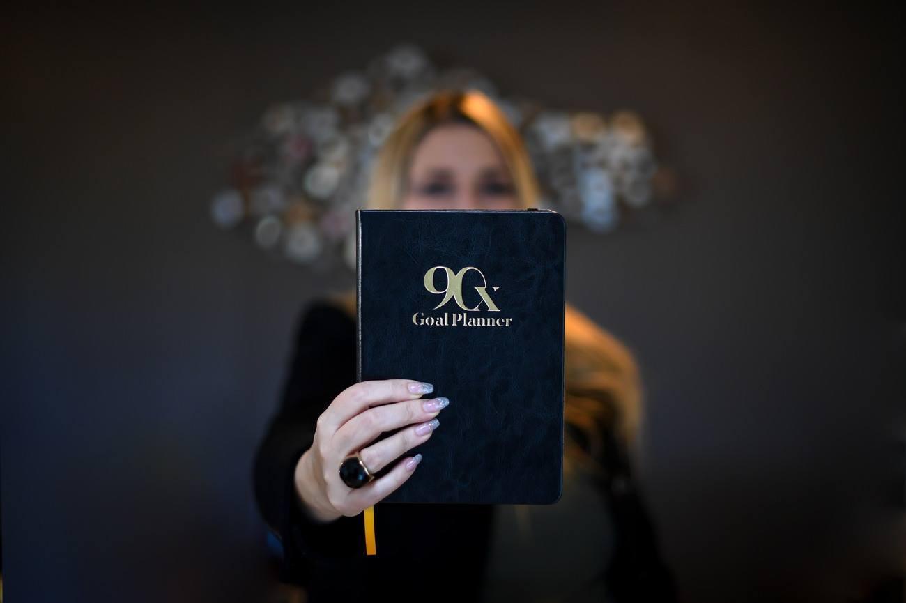 Goal Planner Notebook
